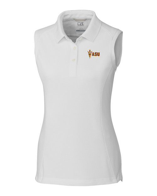 Arizona State Ladies' Sleeveless Advantage Polo