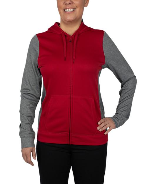 Clique Helsa Sport Colorblock Lady Full Zip 1