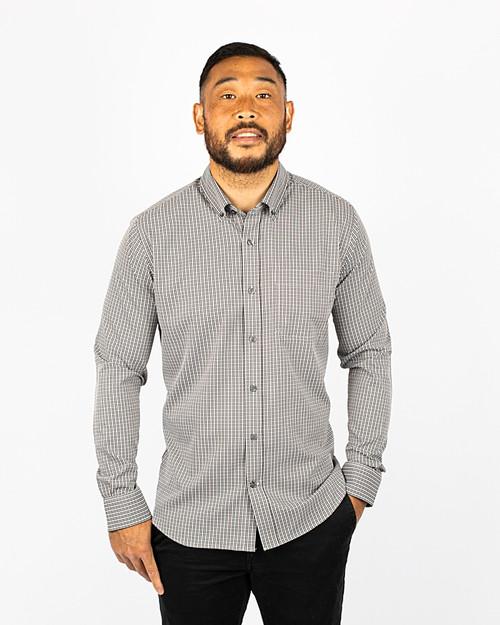 Big & Tall Versatech Multi Check Shirt 1