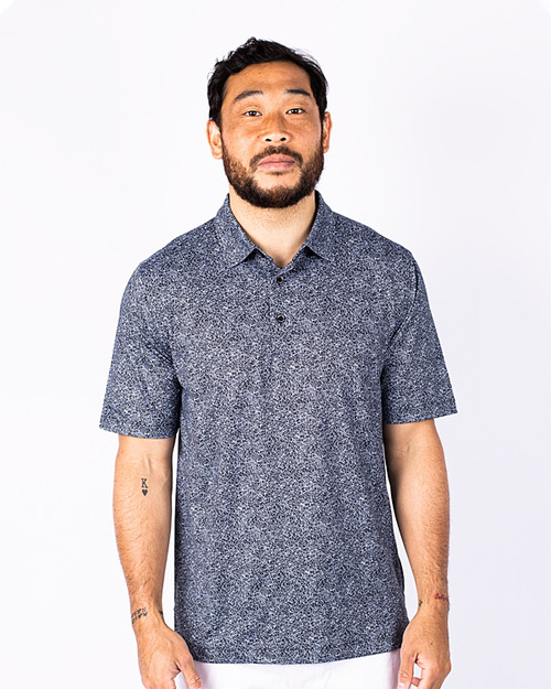 Men's Pike Polo Constellation Print  1