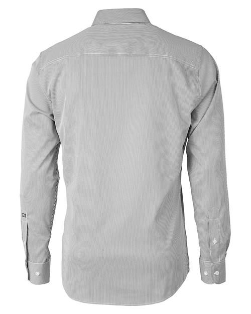 Big & Tall Versatech Pinstripe Shirt 1