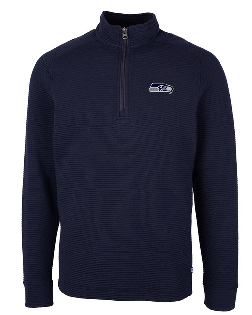 Seattle Seahawks - Big & Tall Coastal Half Zip 1