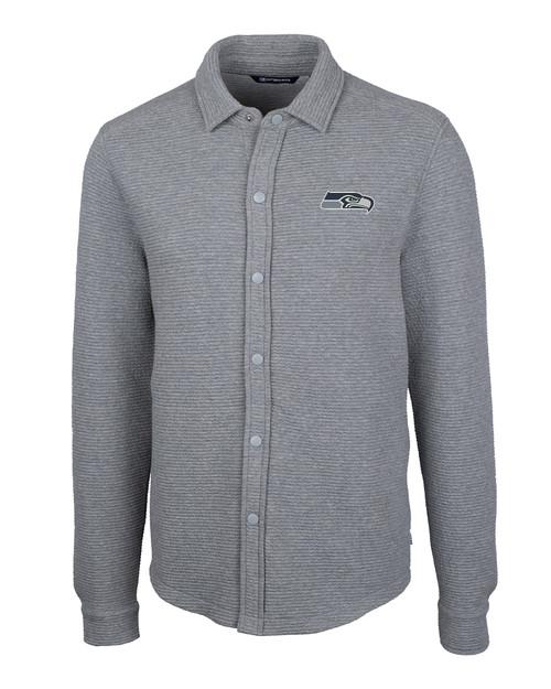 Seattle Seahawks - Big & Tall Coastal Shirt Jacket 1