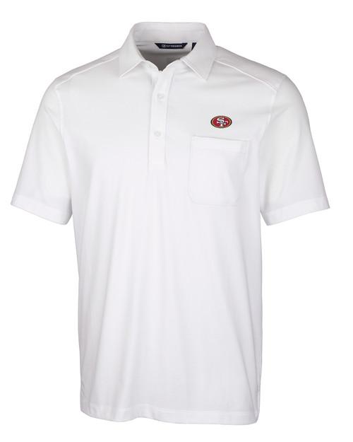 San Francisco 49ers Big & Tall Advantage Jersey Polo 1