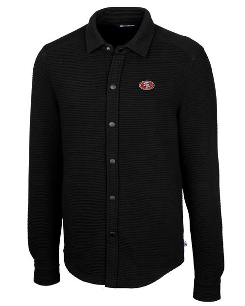 San Francisco 49ers Big & Tall Coastal Shirt Jacket 1