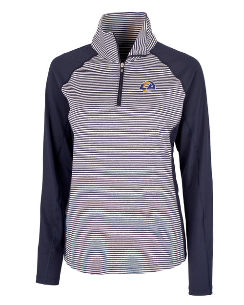 Los Angeles Rams - Forge Tonal Stripe Half Zip 1