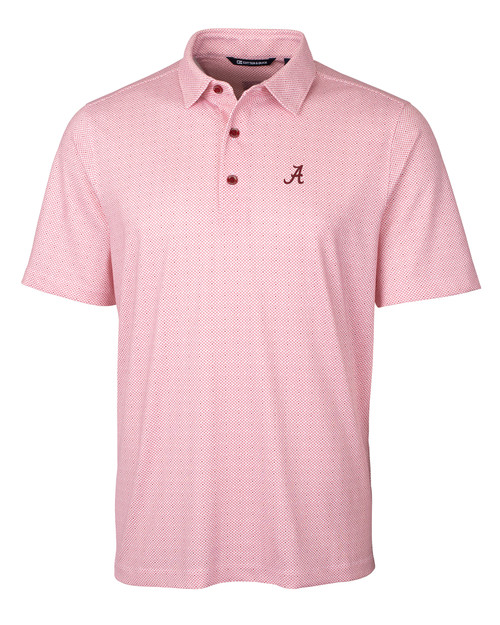 Alabama Crimson Tide Big & Tall Pike Polo Double Dot Print 1