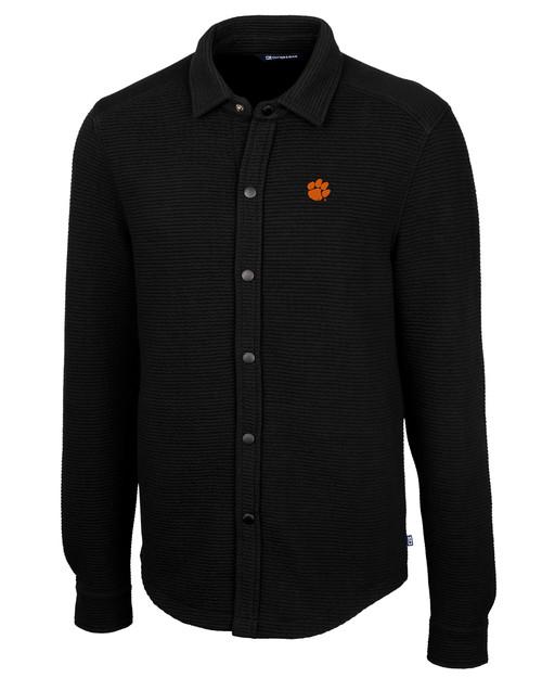Clemson Tigers Coastal Shirt Jacket 1