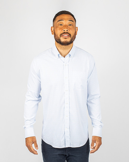 Big & Tall Versatech Tattersall Shirt FB_PRO_HG 1