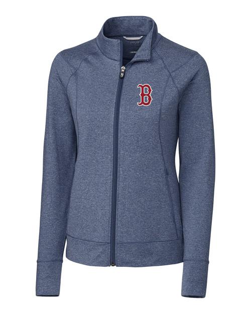 Boston Red Sox Laides' Shoreline Full-Zip LNH_MANN_HG 1
