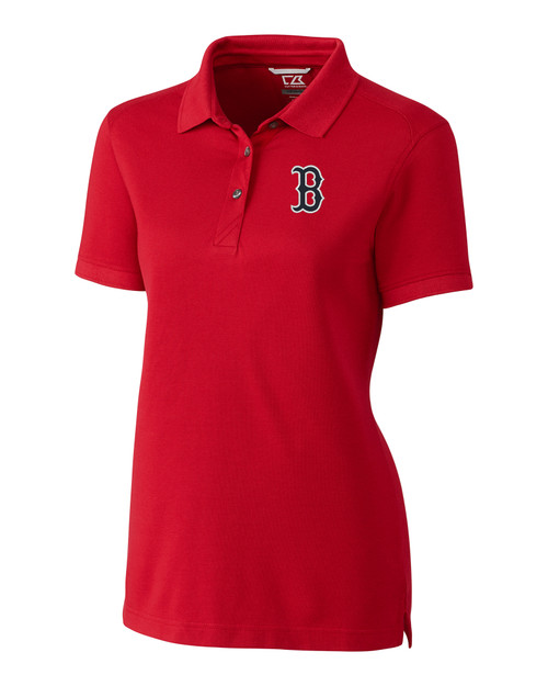 Boston Red Sox Ladies' Advantage Polo  RD_MANN_HG 1