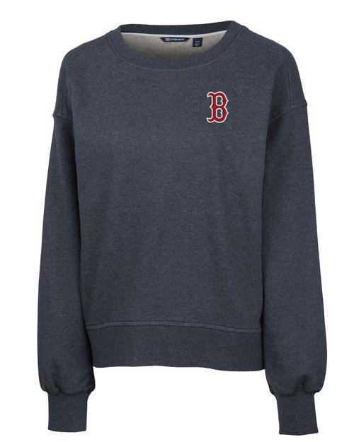 Boston Red Sox Ladies' Saturday Crew Neck Sweatshirt NVH_MANN_HG 1