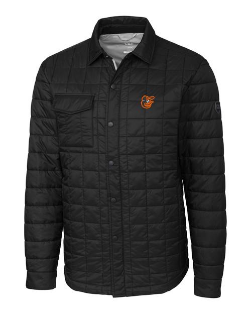 Baltimore Orioles Big & Tall Rainier Shirt Jacket BL_MANN_HG 1