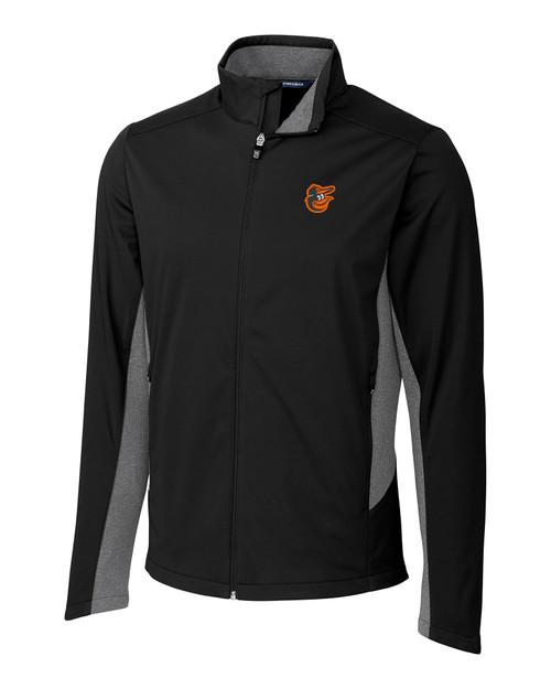 Baltimore Orioles Big & Tall Navigate Softshell Jacket BL_MANN_HG 1