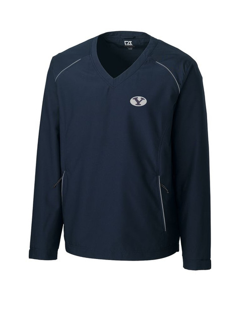 BYU Cougars B&T Beacon V-neck Jacket