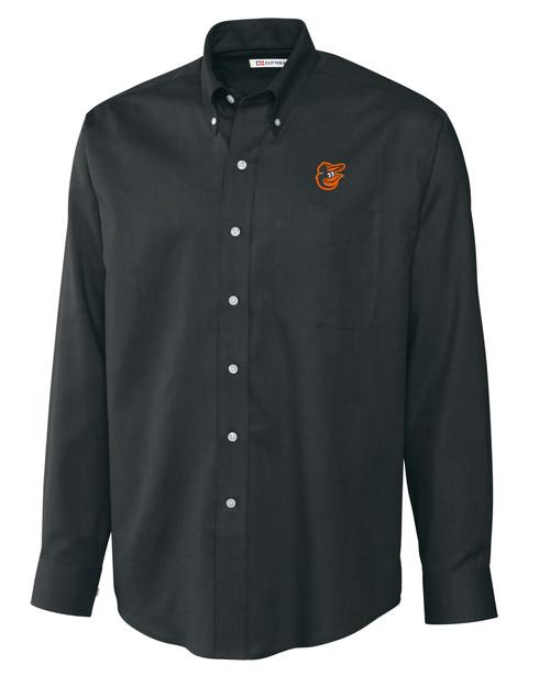 Baltimore Orioles Big & Tall Epic Easy Care Nailshead Shirt BL_MANN_HG 1
