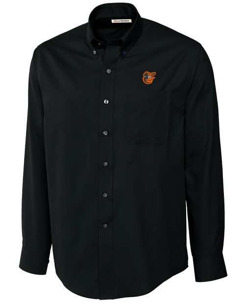 Baltimore Orioles Big & Tall Epic Easy Care Fine Twill Shirt BL_MANN_HG 1
