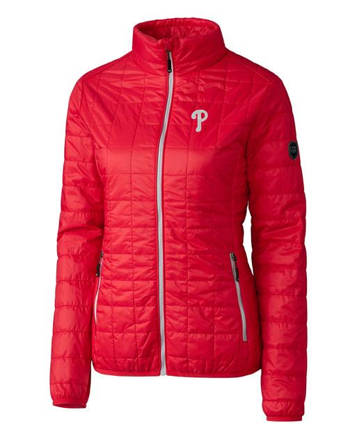 Philadelphia Phillies Ladies' Rainier Jacket RD_MANN_HG 1