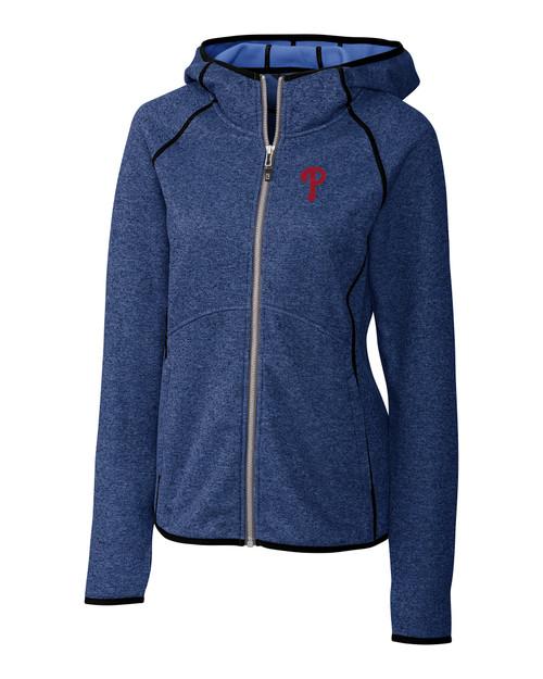 Philadelphia Phillies Ladies' Mainsail Hooded Jacket TBH_MANN_HG 1