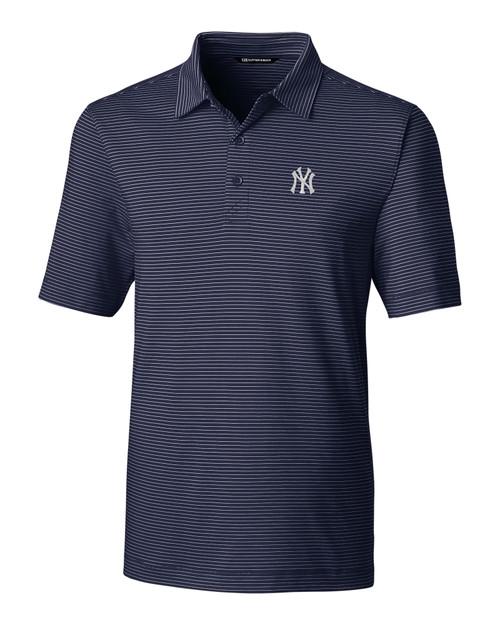 New York Yankees Forge Polo Pencil Stripe LYN_MANN_HG 1