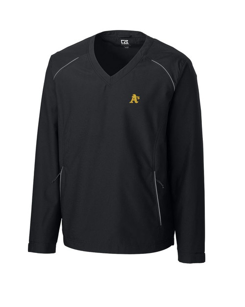 Oakland Athletics  CB WeatherTec Beacon V-neck Windshirt