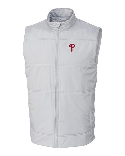 Philadelphia Phillies Big & Tall Stealth Full-Zip Vest POL_MANN_HG 1
