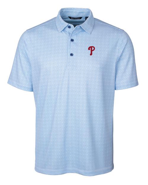 Philadelphia Phillies Big & Tall Pike Polo Double Dot Print TBL_MANN_HG 1