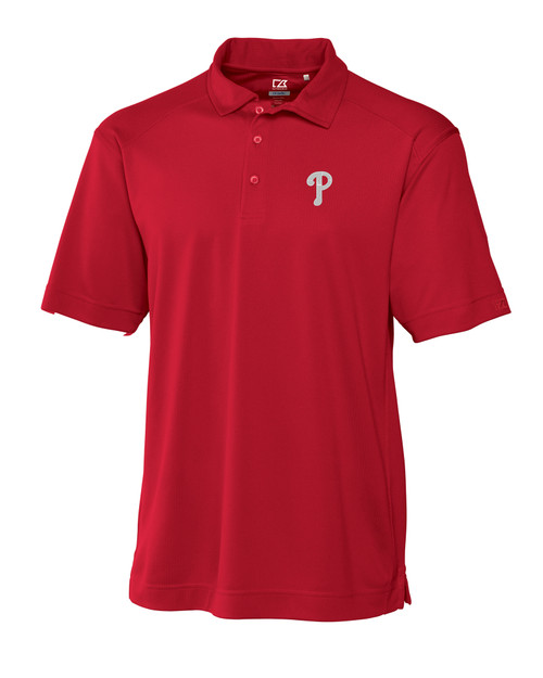 Philadelphia Phillies Big & Tall CB DryTec Genre Polo RD_MANN_HG 1