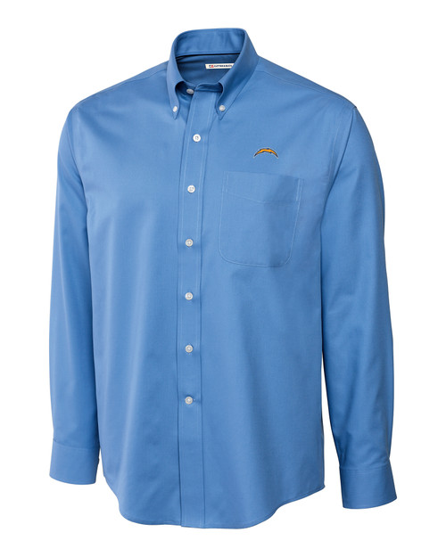 Los Angeles Chargers Big & Tall Epic Easy Care Fine Twill Shirt ALS_MANN_HG 1