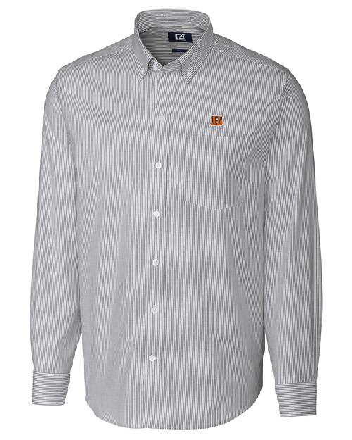 Cincinnati Bengals Big & Tall Versatech Tattersall Shirt CC_MANN_HG 1