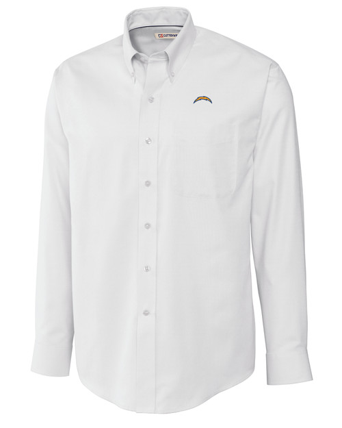 Los Angeles Chargers Big & Tall Epic Easy Care Nailshead Shirt WH_MANN_HG 1