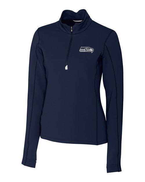 Seattle Seahawks - Ladies' Traverse Half-Zip LYN_MANN_HG 1