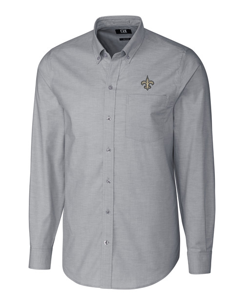 New Orleans Saints Stretch Oxford Shirt CC_MANN_HG 1