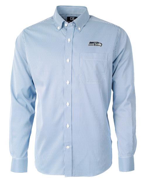 Seattle Seahawks - Versatech Pinstripe Shirt IND_MANN_HG 1