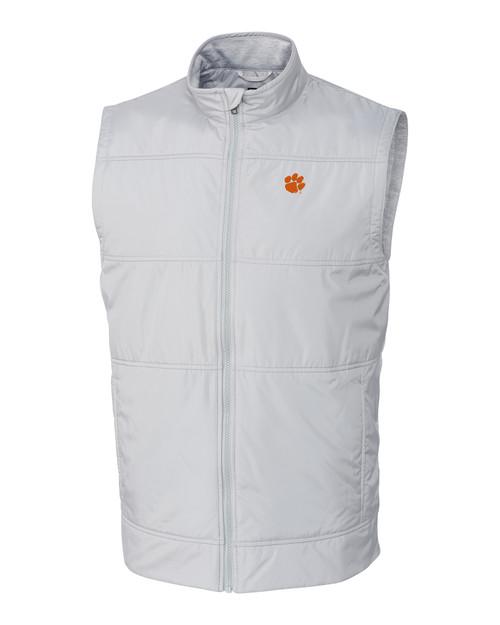 Clemson Tigers Big & Tall Stealth Full-Zip Vest POL_MANN_HG 1