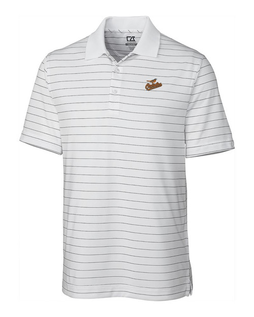 Baltimore Orioles CB DryTec Franklin Stripe  Polo