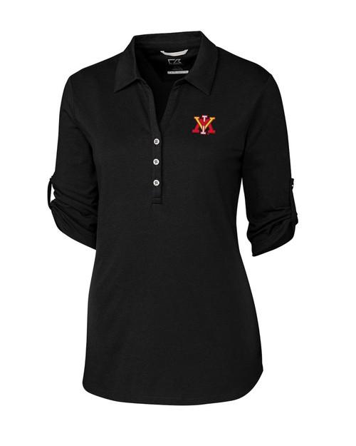 Virginia Military Institute Women's E/S Thrive Polo