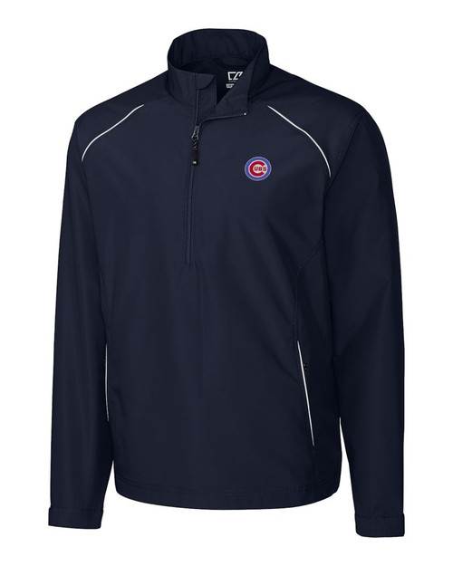 Chicago Cubs B&T Beacon Half Zip Jacket