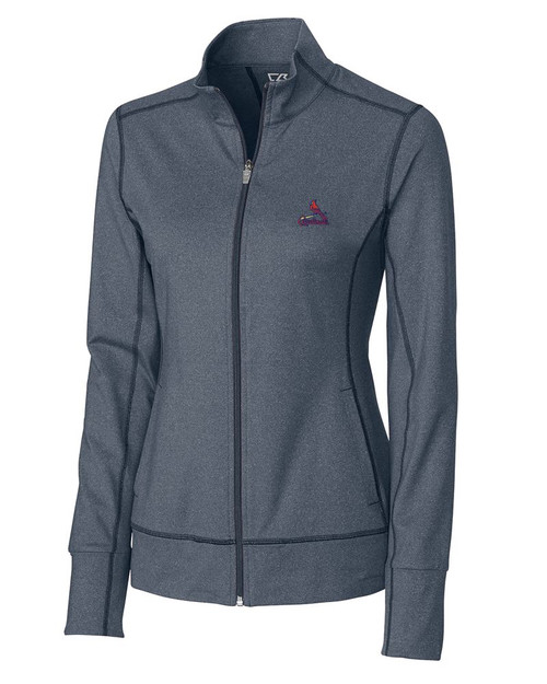 St Louis Cardinals  Ladies Topspin Full Zip