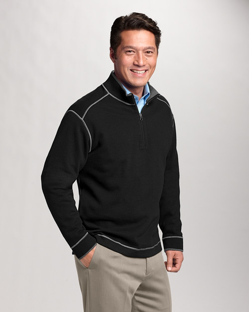 Big & Tall Overtime Half Zip Overknit