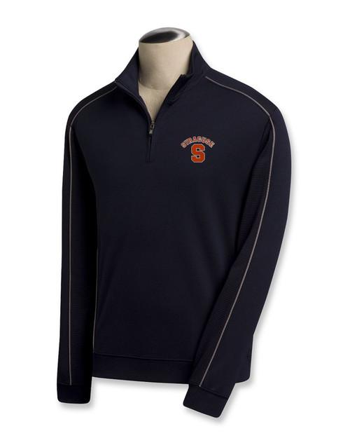 Syracuse Orange B&T CB DryTec Edge Half Zip Pullover
