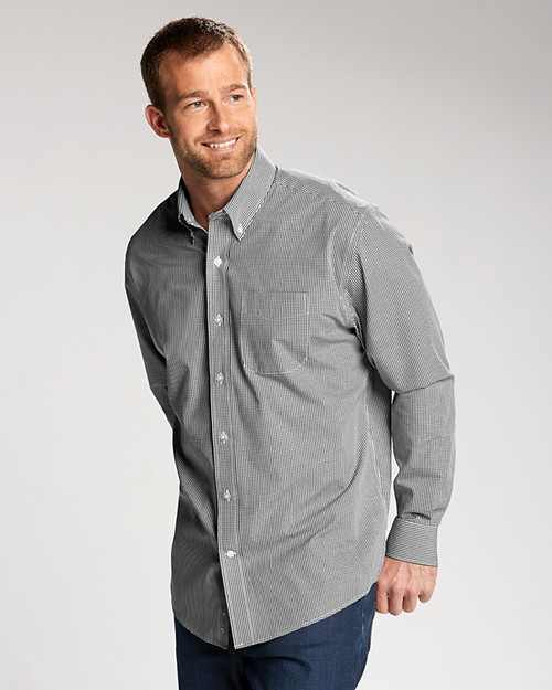 Man in Big & Tall Epic Easy Care Gingham.