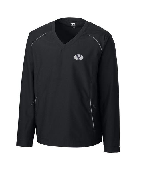 BYU Cougars  CB WeatherTec Beacon V-neck Windshirt