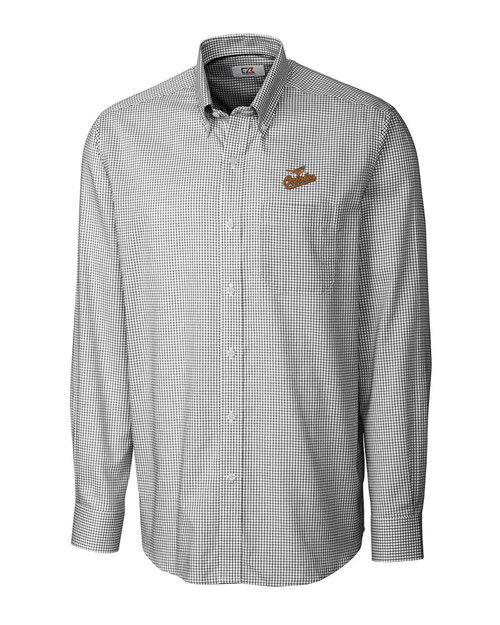 Baltimore Orioles B&T L/S Epic Easy Care Tattersall 1
