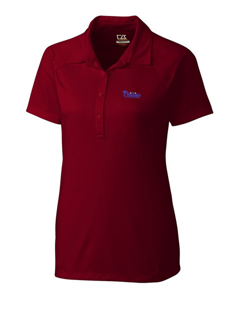 Philadelphia Phillies Women's CB DryTec Lacey Polo
