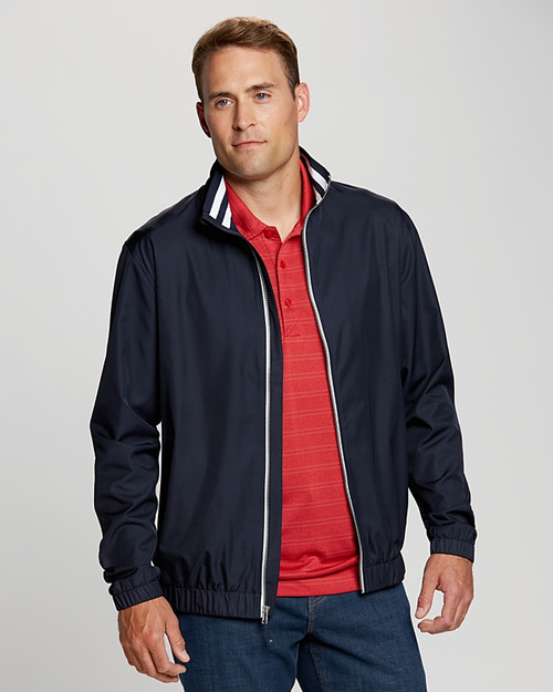 Big & Tall Nine Iron Jacket has water-resistant layers to keep you comfortable.