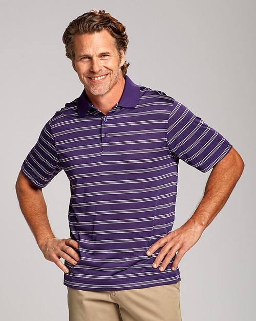 Backspin Stripe Polo
