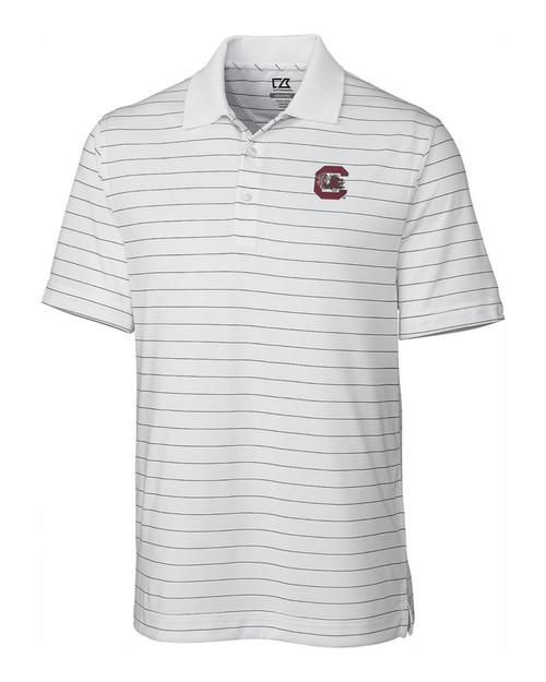 South Carolina Gamecocks  CB DryTec Franklin Stripe  Polo