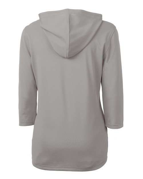 Cutter & Buck Virtue Eco Pique Recycled Half Zip Pullover Womens Hoodie POL_MANNB_HG 1