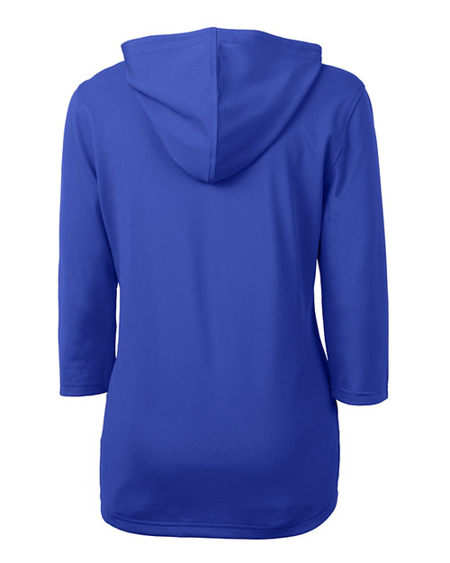 Cutter & Buck Virtue Eco Pique Recycled Half Zip Pullover Womens Hoodie TBL_MANNB_HG 1